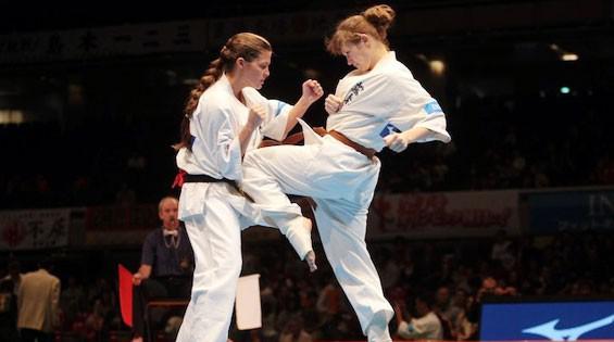 Юна франківчанка здобула перемогу на Чемпіонаті світу з кіокушинкай-карате (відеосюжет)