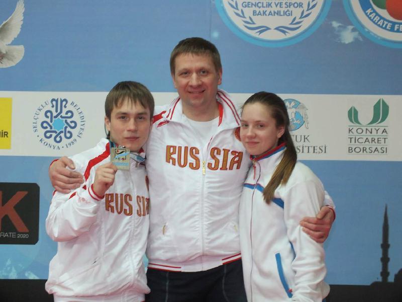 Андрей Савченко - лучший тренер каратэ 2015