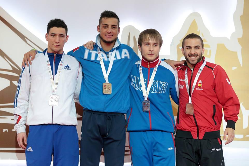 Евгенйи Плахутин - Чемпионат Европы 2015