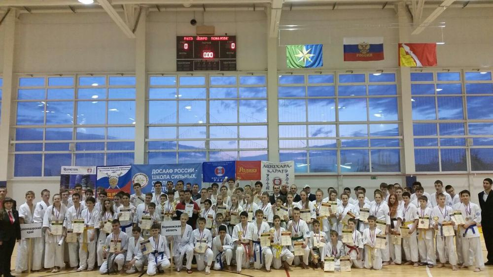 Чемпионат России Ашихара Каратэ