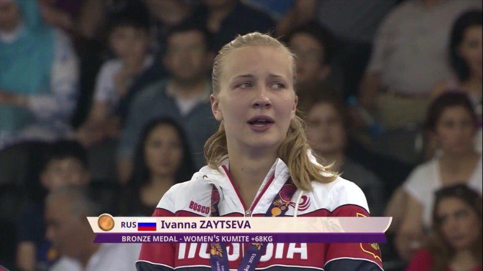 Иванна Зайцева в Баку 2015