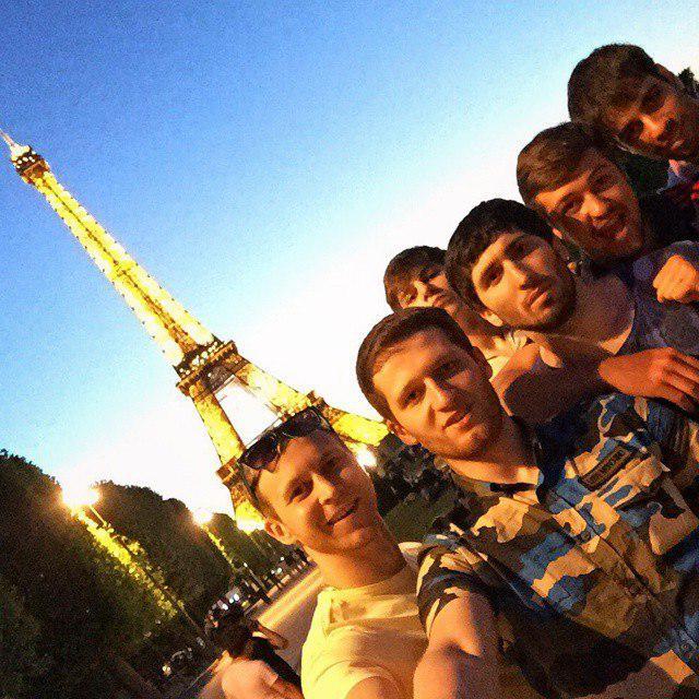 Российские каратисты в Париже