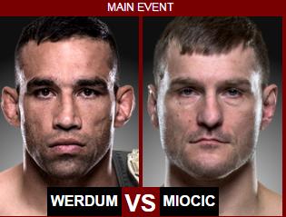 Веласкес - Миочич UFC 196