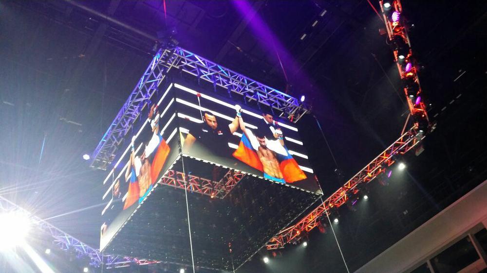 Сборная РФ поММА вполном составе вышла вфинал чемпионата мира