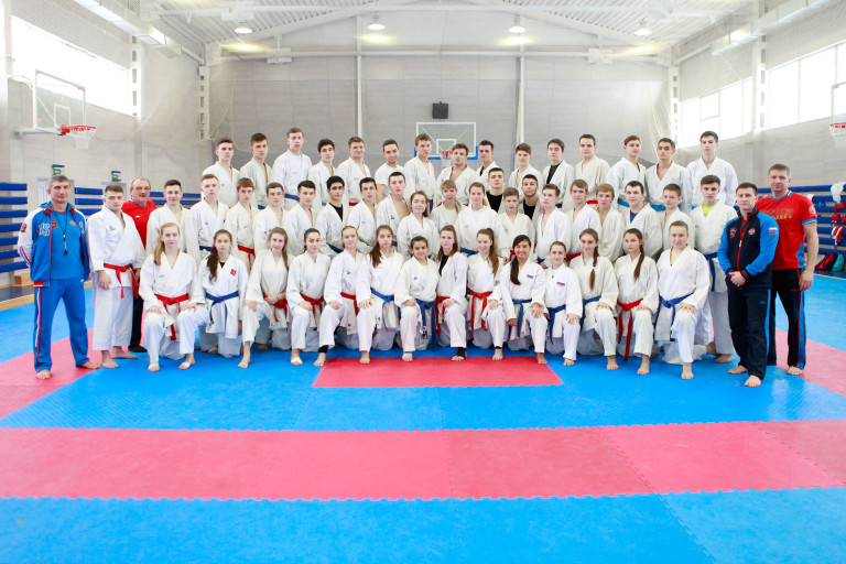 молодежная сборная России по каратэ