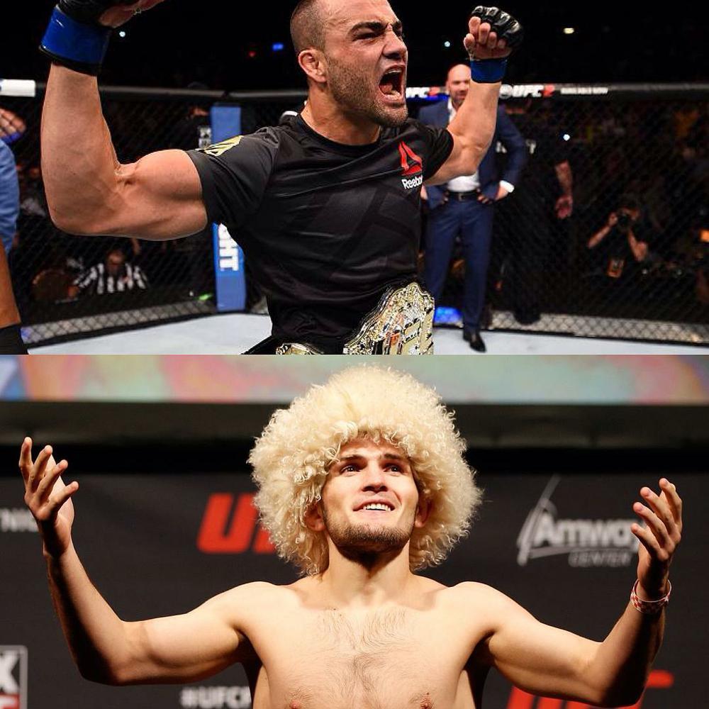 «Сделаю все, чтобы привезти пояс UFC вРоссию»— Хабиб Нурмагомедов