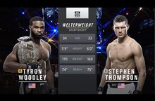 Free Fight перед UFC 209: Tyron Woodley vs Stephen Thompson 1