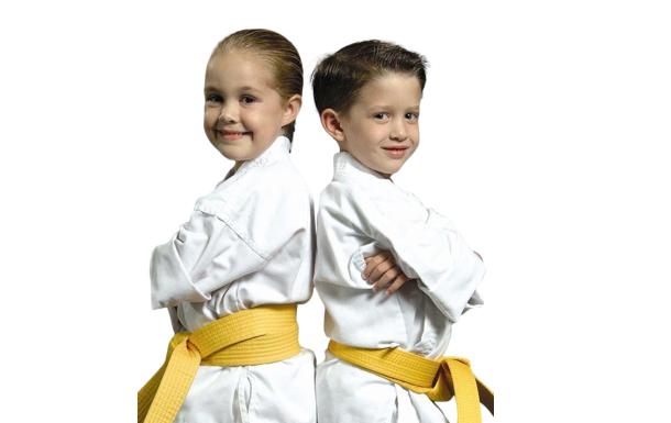 Фото детей по карате