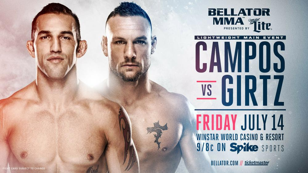 Bellator 181: Брендон Гиртц vs Дерек Кампос. Анонс турнира
