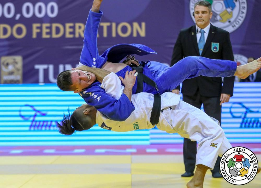 Ставропольский дзюдоист Арам Григорян стал бронзовым призером Гран-при Туниса
