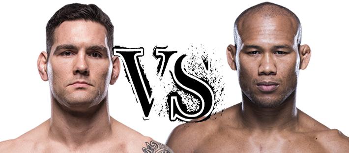 Роналждо Жакаре Соуза против Криса Вайдмана на ЮФС ГАС UFC 230