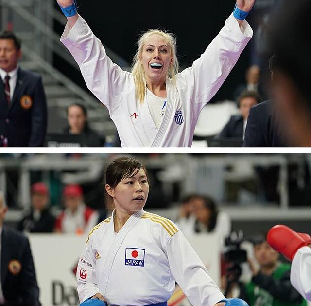 Чемпионат мира по каратэ WKF 2018 кумитэ свыше 68 кг