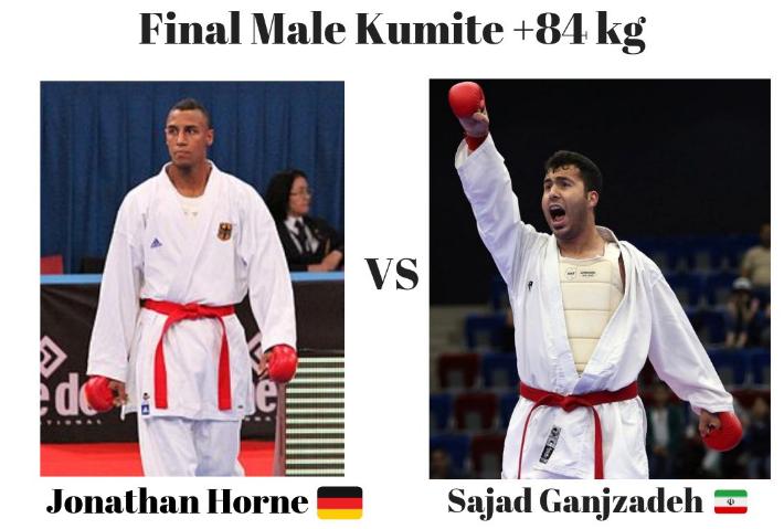 Мужское кумитэ свыше 84 кг Чемпионат мира по каратэ WKF 2018