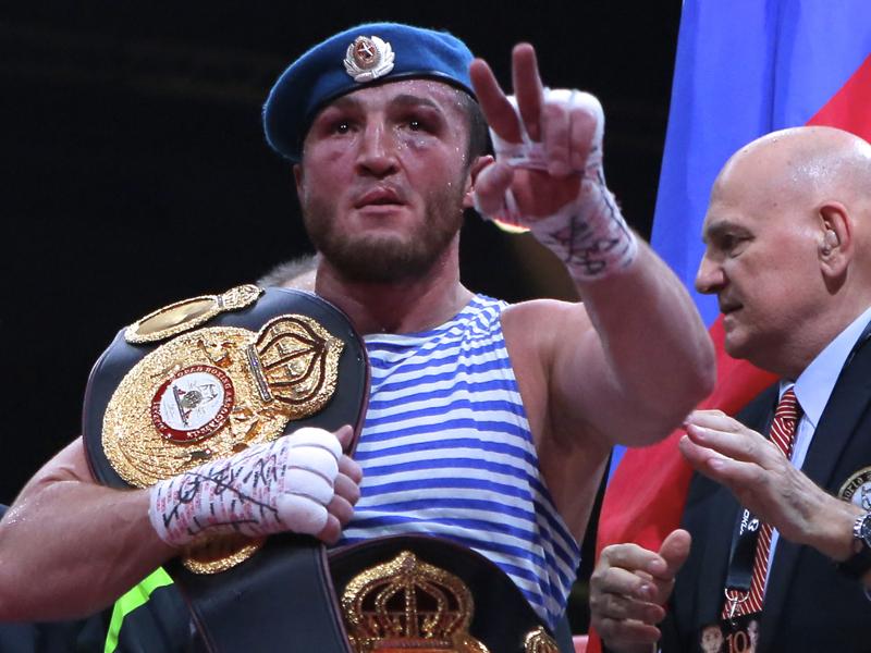 Чемпионский пояс Лебедева будет выставлен впоединке Гассиев-Дортикос
