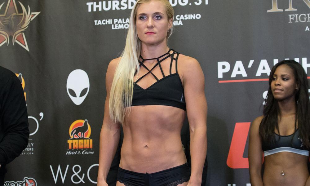 Русская спортсменка подерётся затитул UFC