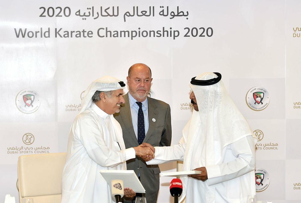 Чемпионат мира по каратэ WKF 2020 Дубай ОАЭ