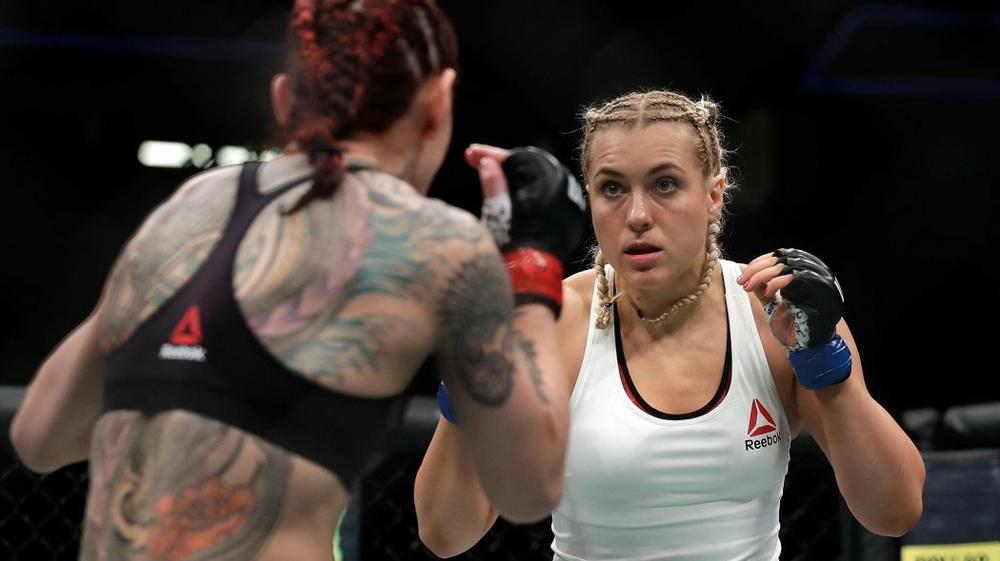 Куницкая проведет бой сЛансберг натурнире UFC 229
