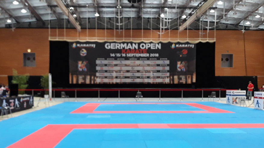 German Open текстовая трансляция первого дня Премьер-Лиги каратэ1 2018 в Берлине (Германия)