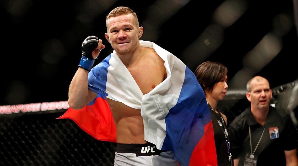 Петр Ян боец UFC
