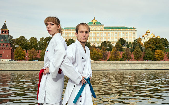 Victoria Isaeva and Evgeny Plakhutin are Russia's most promising competitors karate WKF