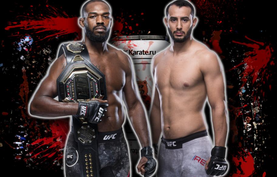 Light Heavyweight Jon Jones (c) vs. Dominick Reyes UFC 247 ЮФС