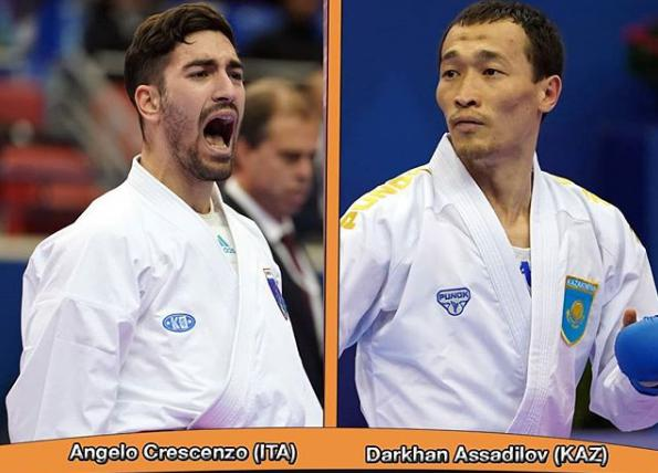 World champion Angelo Crescenzo against Grand Winner Darkhan Assadilov
