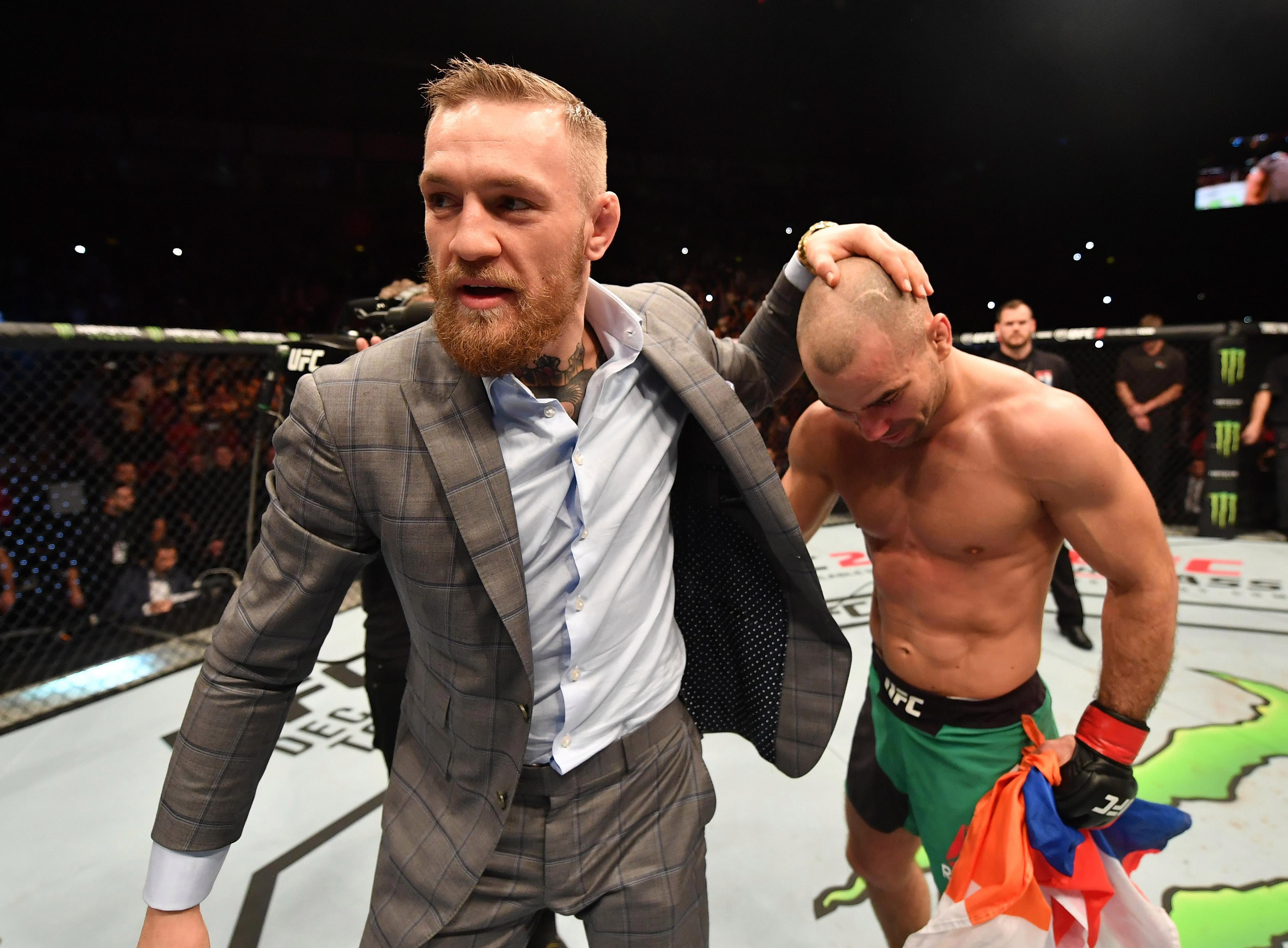 Artem Lobov estimated the probability of McGregor's participation in bare-knuckle fights