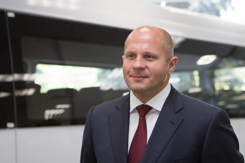 Известный боец ММА Федор Емельяненко в 4-й раз стал отцом