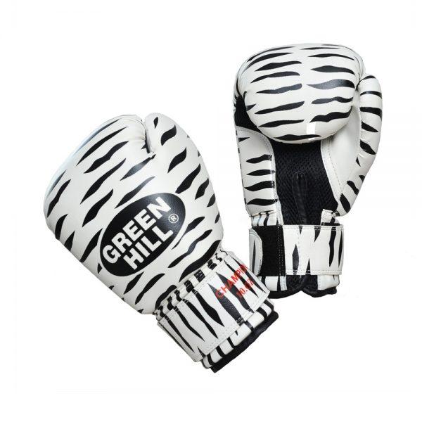 Перчатки боксерские ZEBRA тренировочные на липучке
