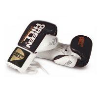 """Перчатки боксерские DOVE для профессионального бокса с системой """"Антинокаут"""", натуральная кожа"""