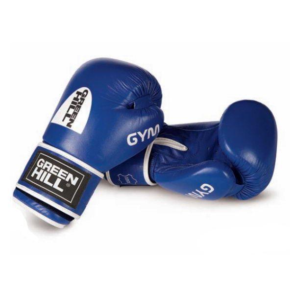 Перчатки GYM боксерские кожаные для тренировок и соревнований на липучке 1