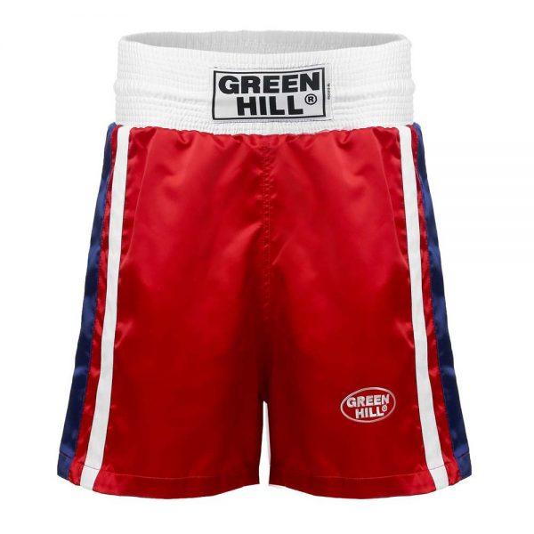 OLIMPIC Трусы боксерские (шорты для соревнований по боксу) - флаг России