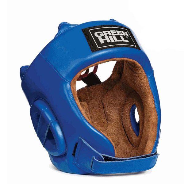 Шлем универсальный для бокса и кикбоксинга FIVE STAR рекомендовано AIBA, натуральная кожа