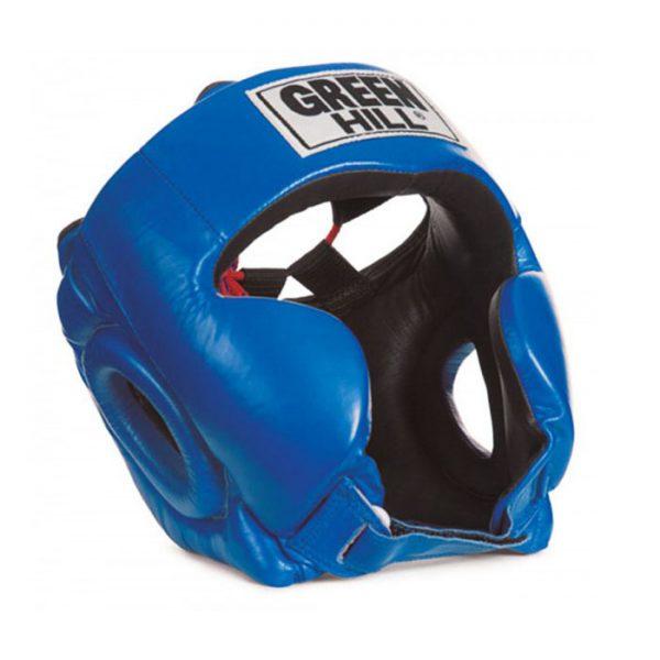 Шлем тренировочный с усиленной защитой CLUB - для бокса, ММА, кикбоксинга, самбо, натуральная кожа