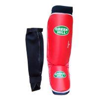 Защита голени и стопы COVER - накладки на ноги для карате и кикбоксинга, толщина 1,5 см.