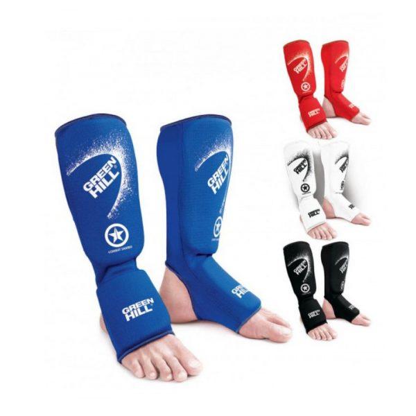 Защита голени и стопы COMBAT SAMBO - защита на ноги для боевого самбо