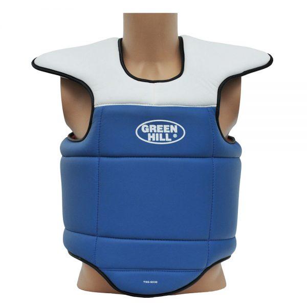 Защита на грудь жилет с защитой плечей для каратэ, тхэквондо и единоборств
