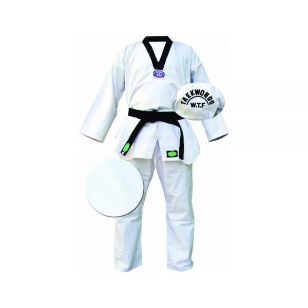 "Кимоно Taekwondo ""CLUB"" белое"