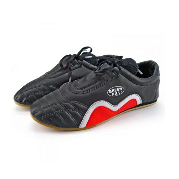 Туфли для таэквандо кожа черные