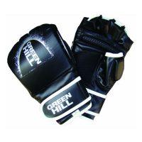 Перчатки MMA черные искусственная кожа. Все размеры