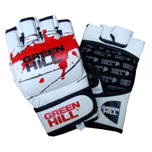 Перчатки MMA белые искусственная кожа. Все размеры