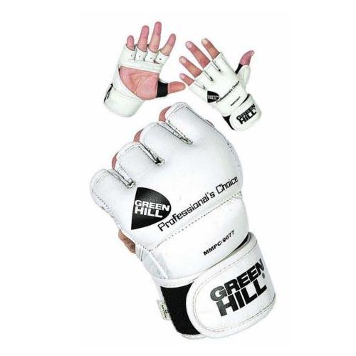 Перчатки MMA PROFESSIONAL CHOICE белые кожзаменитель