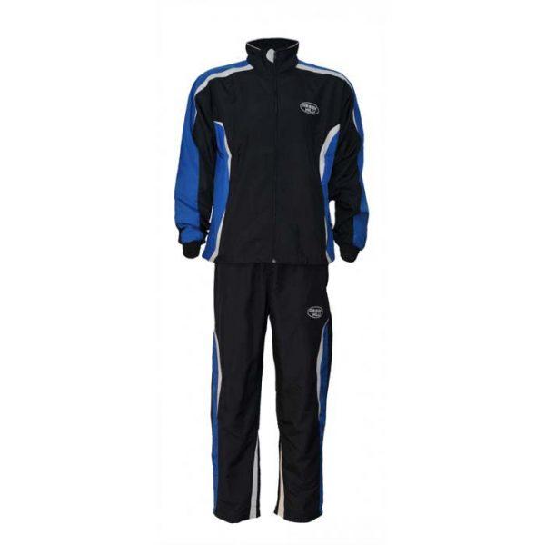 Костюм спорт ДЗЮДО синий полиэстер для занятий спортом и повседневного ношения.