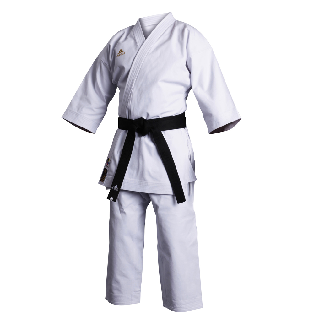 Кимоно для карате Champion European cut из 100% хлопка высшего качества, обработанного специальной антибактериальной пропиткой