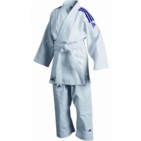 Кимоно для дзюдо детское Kids с «зерновой» структурой ткани комфорт во время тренировок