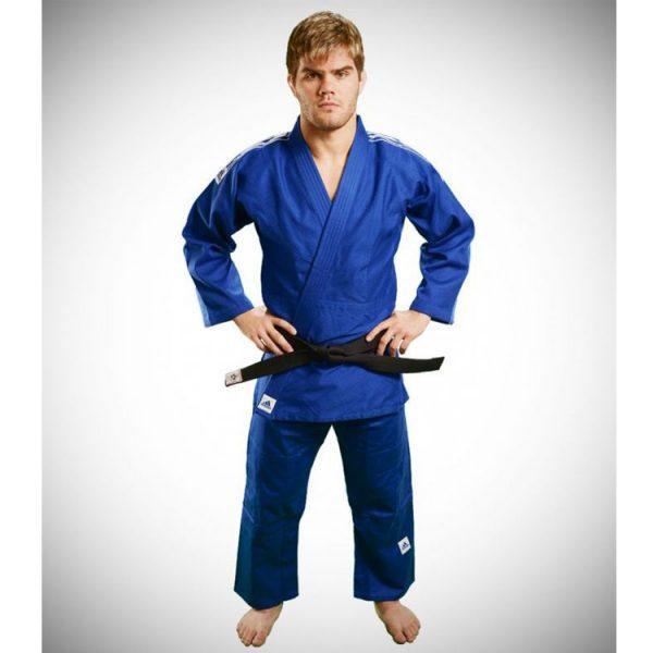 Кимоно для дзюдо Training синее усиленные места в областях с высокой нагрузкой