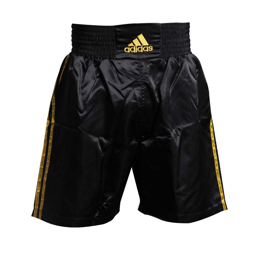 Шорты боксерские Multi Boxing Shorts для профессионального бокса атласная ткань
