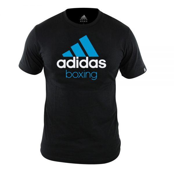 Футболка детская Community T-Shirt Boxing  хлопковый трикотаж эффективно отводит влагу от тела во время тренировки рифленый круглый ворот