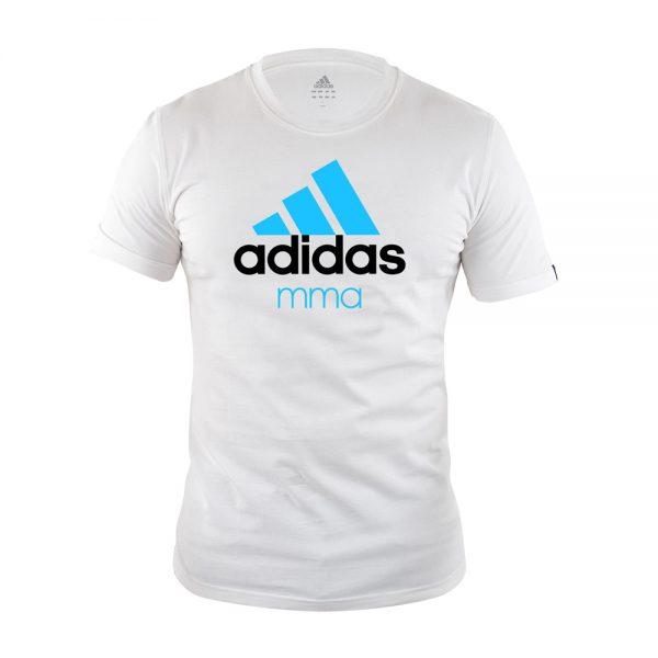 Футболка детская Community T-Shirt MMA хлопковый трикотаж эффективно отводит влагу от тела во время тренировки рифленый круглый ворот