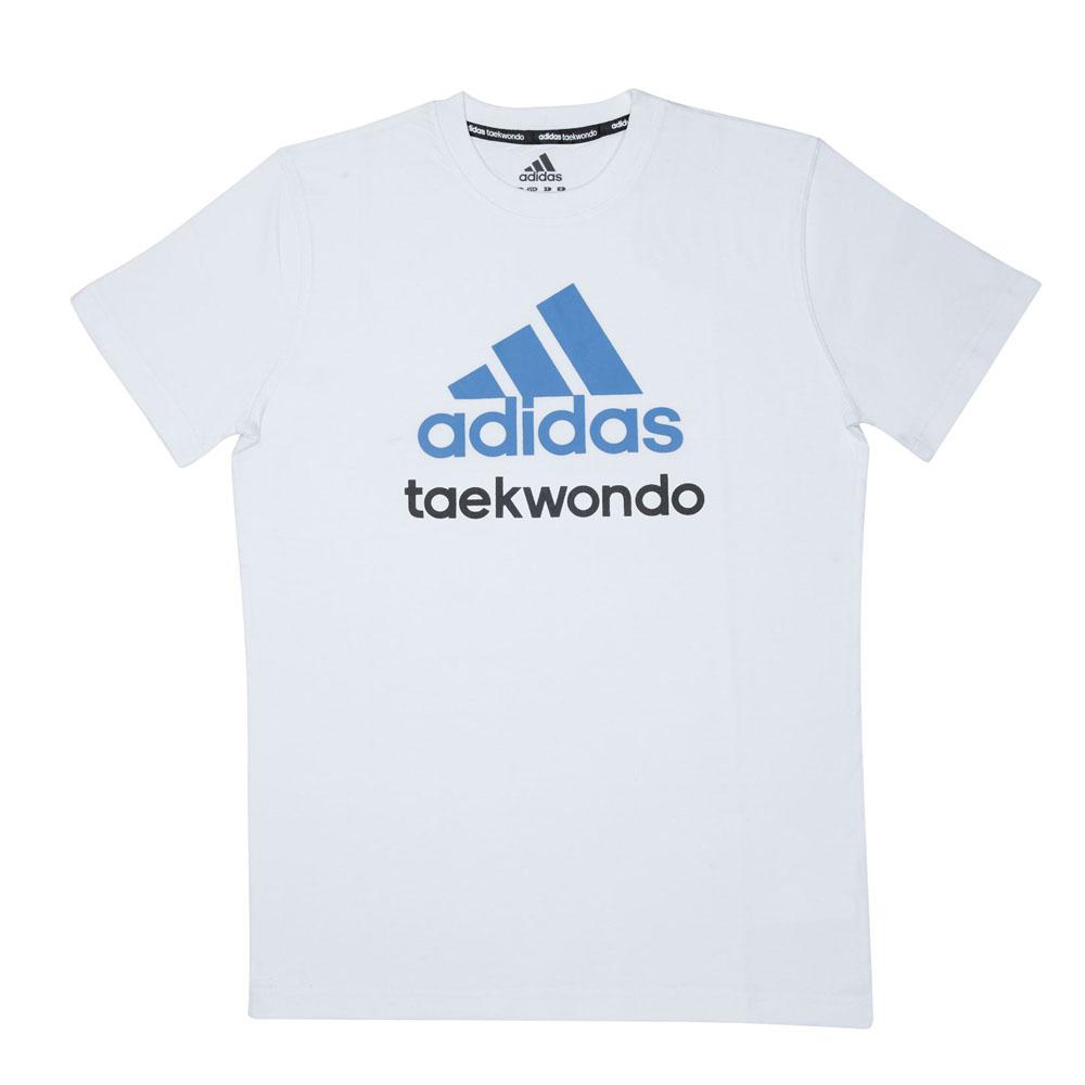 Футболка детская Community T-Shirt Taekwondo Kids хлопковый трикотаж эффективно отводит влагу от тела во время тренировки рифленый круглый ворот